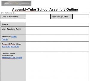 Assembly Planner Template